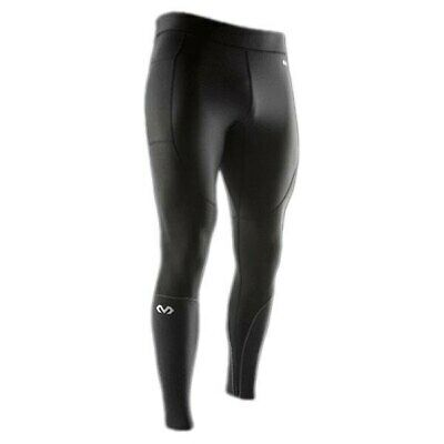 Mc David Recovery Max Tights Men´s Clothing Black Reflective Accents Compressiv • 78.99£