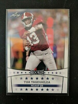 $4.95 • Buy Tua Tagovailoa 2020 Leaf Rookie Rc Card #04 Alabama / Miami Dolphins Qb
