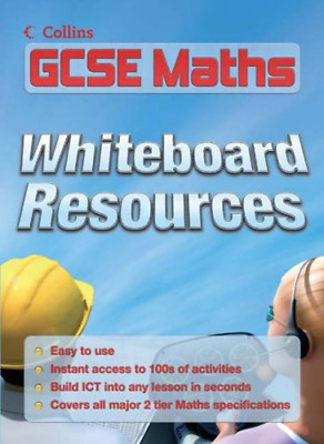 E-Resources – GCSE Maths Whiteboard CD-Rom: GCSE 2-tier Whiteboard Resources, ,  • 5.82£
