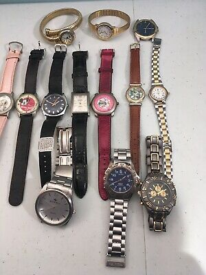 $ CDN29.99 • Buy Watches For Parts Repairs Lot Snoopy Mickey Gitano ...