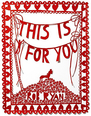 This Is For You, Rob Ryan, Good Condition Book, ISBN 0340933674 • 2.35£