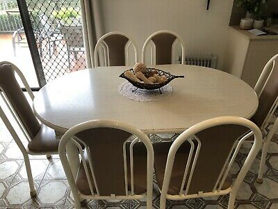AU200 • Buy 6 Seater Extendable Dining Table  And Chairs