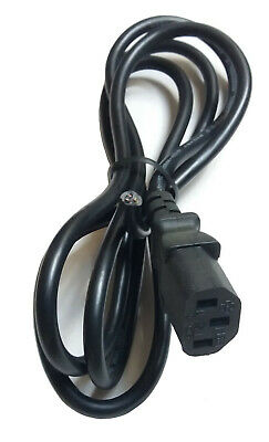 Power Cable / Mains Kettle Lead With Bare Ends C13 IEC For PC / Monitor NO PLUG • 2.69£