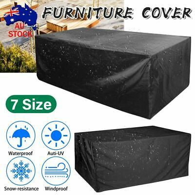 AU28.39 • Buy Waterproof Outdoor Furniture Cover Yard UV Garden Table Chair Shelter Protector