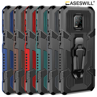 $3.98 • Buy For Xiaomi Redmi Note 10 9s 9 8 7 6 Pro Max Shockproof Kickstand Case With Clip