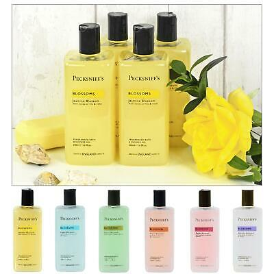 £12 • Buy Pecksniff's Bath Shower Gel Pack Of 4 Blossoms Floral Scented Wash 500ml
