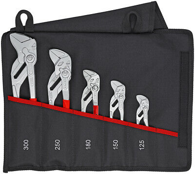 £264.99 • Buy Knipex 00 19 55 S4 5 Piece Lock Button Wrench Spanner Waterpump Pliers Grips Set
