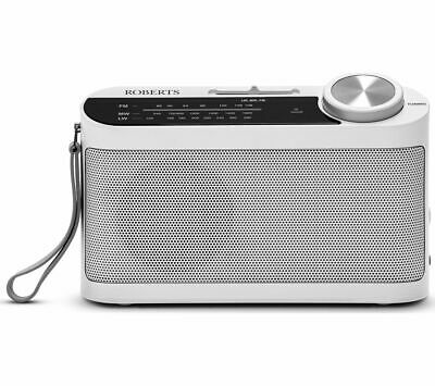 £19.99 • Buy ROBERTS Classic 993 Portable FM/AM Radio Aux-in Up To 80h White - Currys