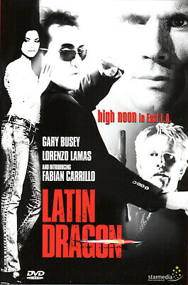Latin Dragon , 100% Uncut , UK Region DVD , Lorenzo Lamas , New And Sealed • 14.99£