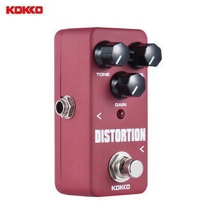 $ CDN29.24 • Buy KOKKO FDS2 Mini Distortion Pedal Portable Guitar Effect Pedal Red Free Ship R8B9