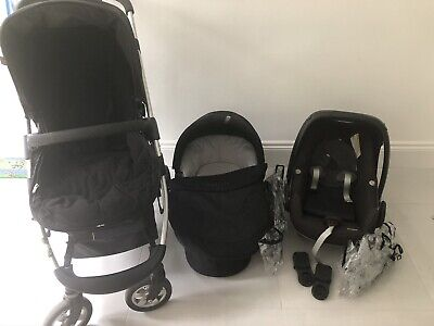 Icandy Cherry - Carrycot, Toddler Seat, Pebble Car Seat Plus Accessories • 300£