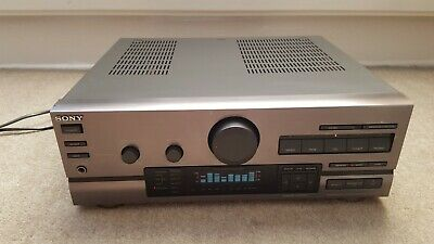 Made In JAPAN Silver SONY TA-D507 Stereo INTEGRATED Amplifier PHONO Input STAGE • 70£
