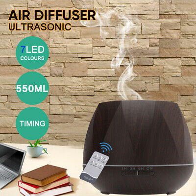 AU24.99 • Buy Ultrasonic Aroma Aromatherapy Diffuser Oil Electric Air Humidifier Essential LED