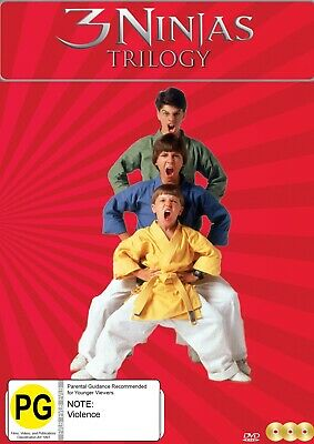 $ CDN30.58 • Buy 3 Ninjas Trilogy [ntsc All Regions] (3dvd)