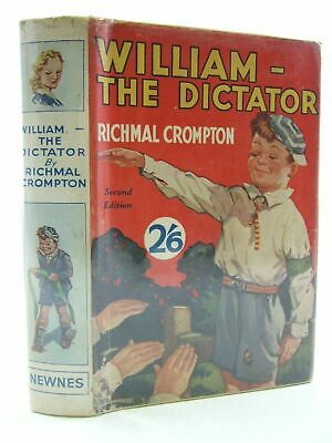WILLIAM-THE DICTATOR - Crompton, Richmal. Illus. By Henry, Thomas • 150.20£