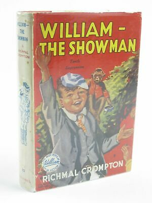 WILLIAM THE SHOWMAN - Crompton, Richmal. Illus. By Henry, Thomas • 28.70£