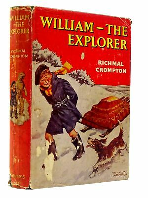WILLIAM THE EXPLORER - Crompton, Richmal. Illus. By Henry, Thomas • 64.90£