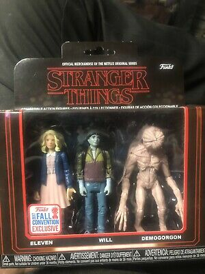 AU40 • Buy Stranger Things Funko 3 Pack Fall Convention Exclusive 2017