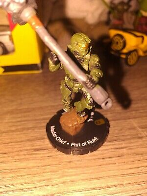£8.80 • Buy Halo ActionClix #082 Master Chief With Fist Of Rukt No Card WizKids 2007