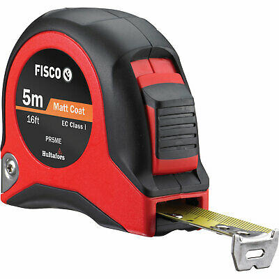 Fisco Tape Measure Imperial & Metric 16ft / 5m 19mm • 18.95£