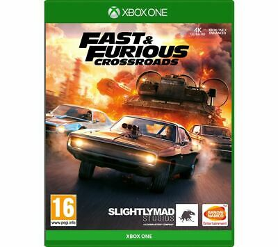 XBOX ONE Fast And Furious: Crossroads Game Racing 16+ Online Multiplayer Currys • 26.99£