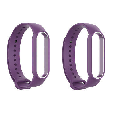 AU7.99 • Buy 2x Replacement Sport Silicone Band Watch Band Fit For Xiaomi MI Band 5 New