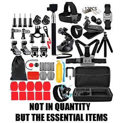 AU39.99 • Buy For GoPro Go Pro HD Hero 8 7 6 5 4 3+ Action Camera Essential Accessories Box