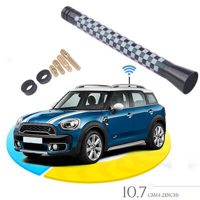 4.2  Car Styling Black&White Colour Short Antenna For MINI Cooper S R55 R56 R60 • 2.99£