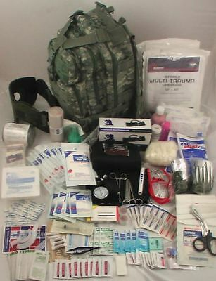$164.99 • Buy Level 3 Military First Aid Survivor Tactical Trauma Medical Emergency Kit New