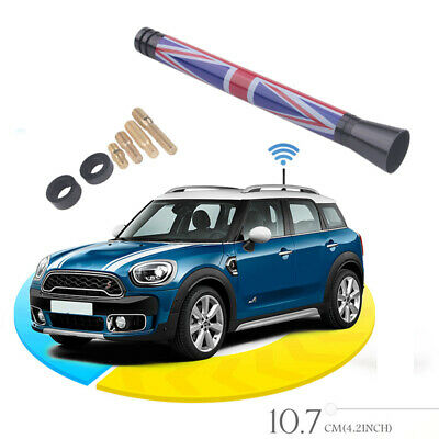 4.2  Car Styling Union Jack UK Flag Short Antenna For MINI Cooper S R55 R56 R60 • 2.99£