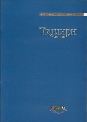 Triumph Accessories & Clothing Motorcycles 2002 Catalogue • 9.99£