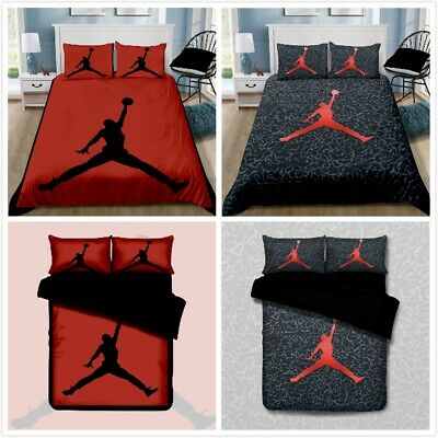 AU45.90 • Buy Basketball Quilt/Doona/Duvet Cover Pillowcase Bedding Set