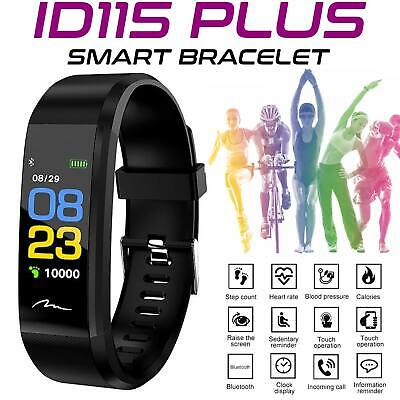 AU12.09 • Buy Fitness Activity Tracker Fitbit Smart Bracelet Heart Rate Monitor Android IOS OZ