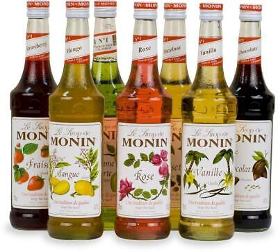 Monin Coffee Syrups - 1 Litre Bottles - As Used By Costa Coffee - Select Flavour • 10.39£