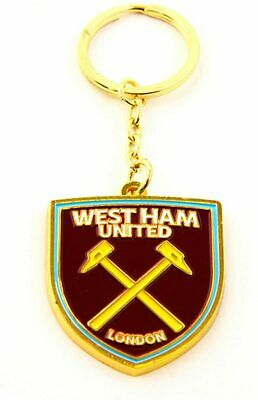 Official Licensed West Ham United Football Club Crest Logo Keyring Idea Gift • 4.99£