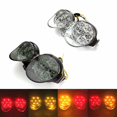 $31.49 • Buy LED Brake Tail Light Turn Signals For YAMAHA YZFR6 YZF-R6 2001-2002