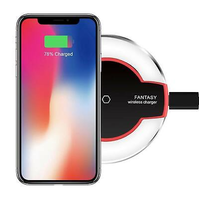 AU4.95 • Buy 10W Qi Wireless Charger Charging Pad Dock For IPhone 11/XR/XS Samsung S10 S9+ OZ