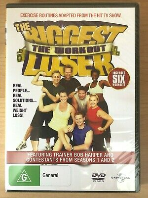 The Biggest Loser ~ The Workout ~ Bob Harper ~ Brand New Sealed Pal Dvd • 6.04£