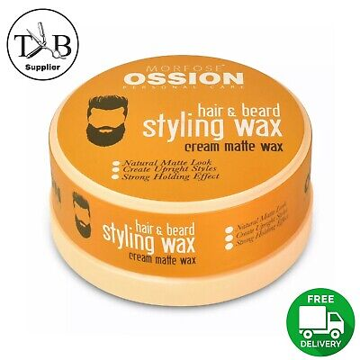 Morfose Ossion Hair And Beard Styling Cream Matte Wax 150ml  • 6.49£
