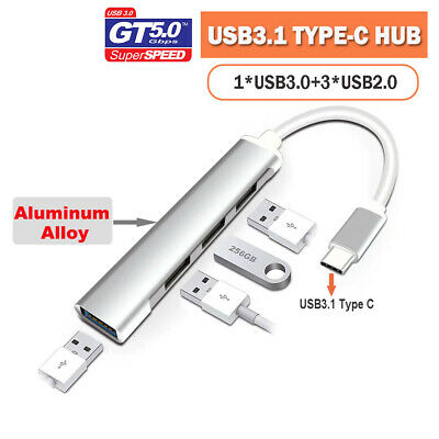 AU11.95 • Buy Multi USB3.1 Type C Usb 3.0 USB2.0 Hub Adapter Expansion Splitter PC Macbook Pro