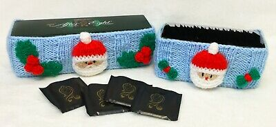 £2.99 • Buy KNITTING PATTERN - Christmas Santa After Eight Mint Box Sweet Tub Covers