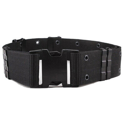 Nylon Security Guard Paramedic Army Police Utility Belt Secure Quick-Release • 4.99£