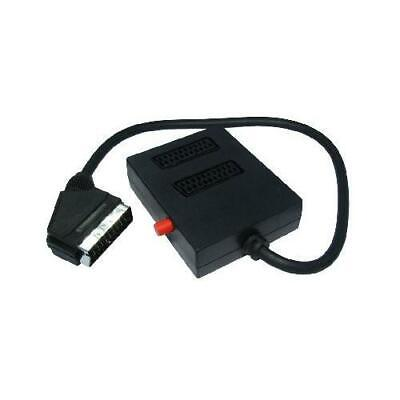GP50 2 Way SCART Splitter Box (Switched) With 0.5 Metre Cable • 7.39£