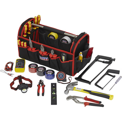 Sealey 24 Piece Electricians Tool Kit In Tool Bag • 215.95£