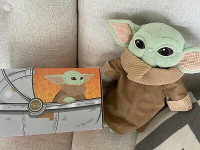 $60 • Buy Baby Yoda Star Wars Stuffed Animal Scentsy With Scent Pack