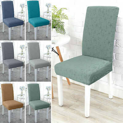 AU84.99 • Buy Removable Stretch Dining Chair Cover Spandex Seat Slipcover Protected Home Decor