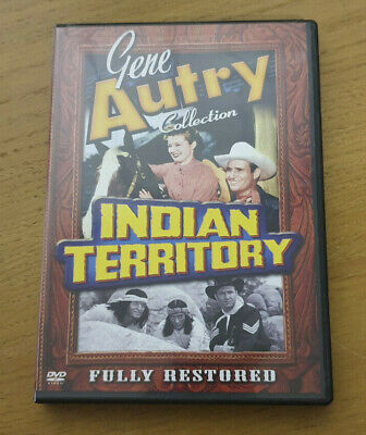 Indian Territory - Region 1 Import DVD - Gene Autry Collection • 7.99£