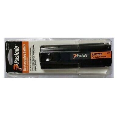 AU42.99 • Buy New-Paslode 404717 Impulse Oval Rechargeable 6V Battery For IM200-F18, IM25 AU
