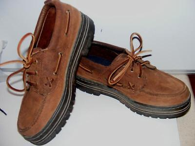 $23 • Buy Ralph Lauren Polo Loafers Oxfords Shoes Walking Lacing Women Leather Laceup Sz 7