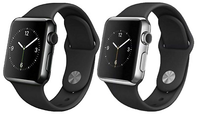 $ CDN191.10 • Buy Apple Watch Series 2 38mm 42mm - Stainless Steel Or Space Black